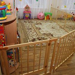 Детский деревянный манеж купить в интернет магазине Manezhi.com