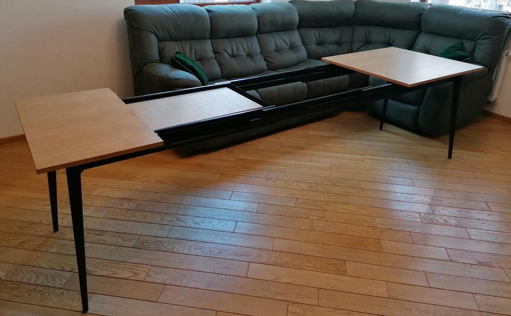 Металическая раздвижная система стола